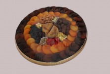 Malatya Kayısısı 30 cm Yuvarlak Sepet (1100 gr)