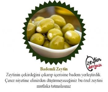 Badem Dolgulu Zeytin (1 Kg)