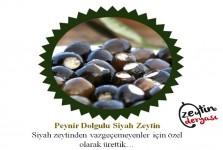 Peynir Dolgulu Siyah Zeytin (1 Kg)