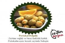 Portakal Dolgulu Zeytin (1 Kg)