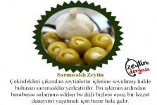 Sarımsak Dolgulu Zeytin (1 Kg)