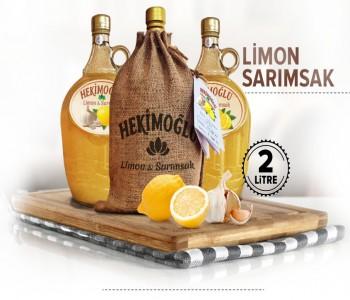 Hekimoğlu %100 Saf Limon Sarımsak Kürü(2 Lt)