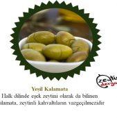 Yeşil Kalamata Zeytin 1 KG
