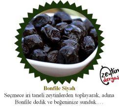 Siyah Bonfile Zeytin 1 KG
