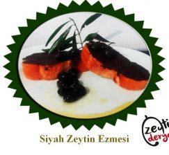 Siyah Zeytin Ezmesi 1 KG