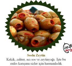 Soslu Zeytin 1 KG