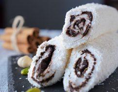 Yeni Uğur, Adana Çikolatalı Sarma Lokum (hindistan Cevizli)